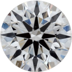 Brilliant diamond round cut