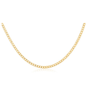 14k Yellow Gold 2mm Cuban Chain