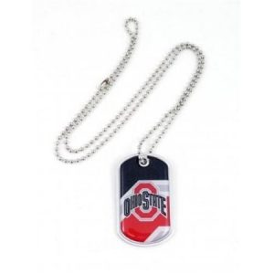 Aminco International CCP-DT-907-51 Dynamic Dog Tag - Ohio State