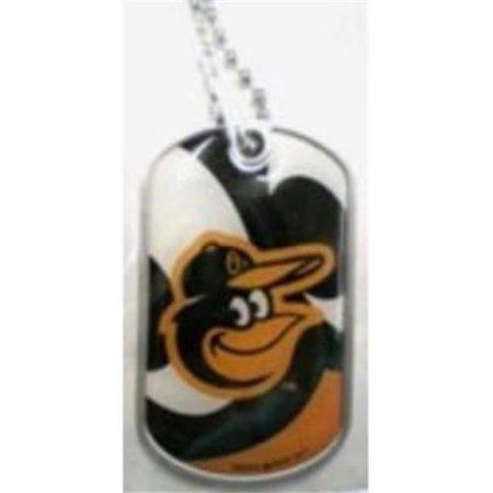 Aminco International MLB-DT-907-18 Dynamic Dog Tag - Baltimore Orioles