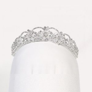 Angels Garment Girls Silver Rhinestone Crystals Special Occasion Tiara