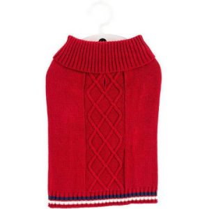 "Cable Sweater, Extra Small, 11""-13"""
