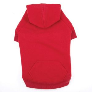 Casual Canine Basic Hoodie M Red
