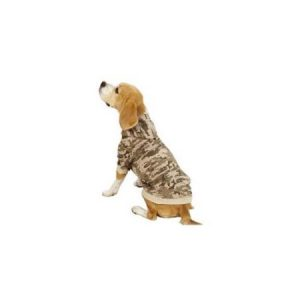 Casual Canine ZM5797 24 43 Digital Camo Hoodie Xlg Green