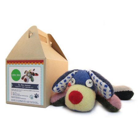 Cate and Levi Scrappy Dog Stuffed Animal Kit