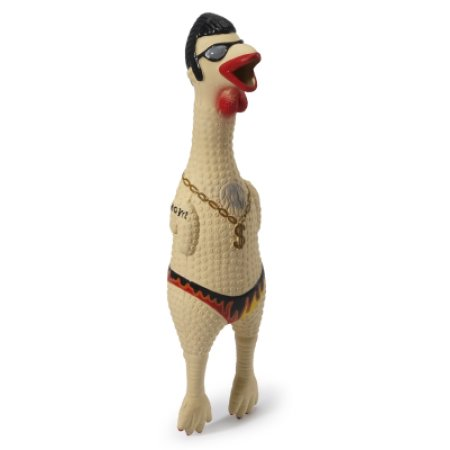Charming Pet Squawkers Earl Chicken Dog Toy, Giant