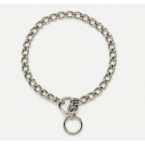 Coastal Pet Products Titan Training Chain Collar 2.5mm Silver