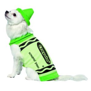 Crayola Screamin' Green Pet Dog Costume