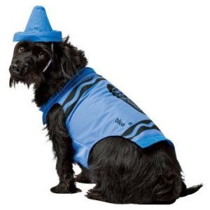 Crayola Sky Blue Pet Dog Costume