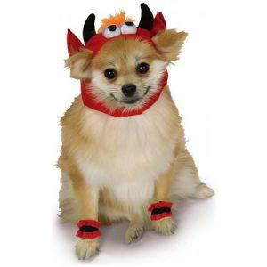 Devil Pet Costume - Large