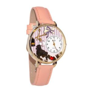 Dog Groomer Watch in Gold (Large)