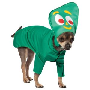 Gumby Pet Dog Costume