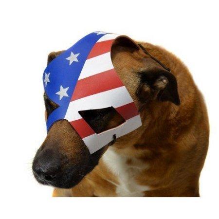 KickAss 2 Eisenhower's Dog Costume Mask
