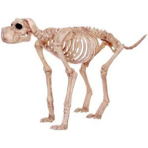 Large Skeleton Dog Halloween Decor