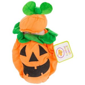 """Lookin' Good Pumpkin Dog Costume X-Small - (Fits 8""""-10"""" Neck to Tail)"""
