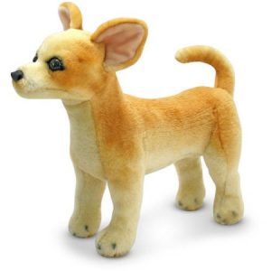 Melissa & Doug Chihuahua Dog - Lifelike Stuffed Animal