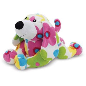 Melissa & Doug Daisy Dog - Patterned Pal Stuffed Animal