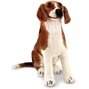 Melissa & Doug Giant Beagle - Lifelike Stuffed Animal Dog