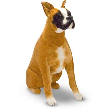 Melissa & Doug Giant Boxer, Lifelike Stuffed Animal Dog