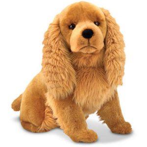 Melissa & Doug Giant Cocker Spaniel - Lifelike Stuffed Animal Dog