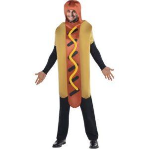 Mens' Hot Dog Costume, M