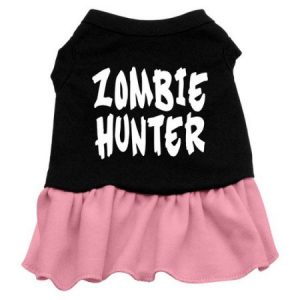 Mirage 57-54 LGBKPK Zombie Hunter Dog Dress Black w/Pink Lg