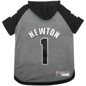 NFLPA Cam Newton Hoodie Tee Shirt for Dogs and Cats