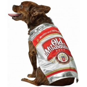 Old Milwaukee Beer Dog Costume Pet Pet Costume - Medium
