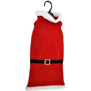 Otis & Claude Fetching Fashion Holiday Santa Sweater, Medium
