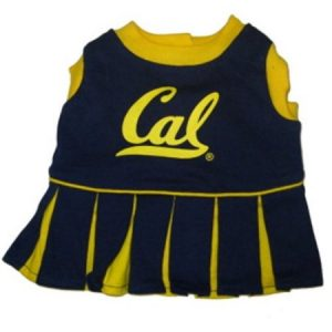 Pets First 3996382 Cal Berkeley Cheerleader Dog Dress Small