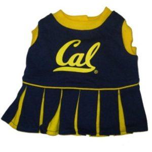 Pets First 3996382 Cal Berkeley Cheerleader Dog Dress Small
