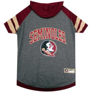 Pets First College Florida State Seminoles Pet Hoody Tee Shirt, 4 Sizes Available