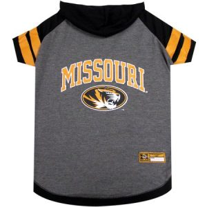 Pets First College Missouri Tigers Pet Hoody Tee Shirt, 4 Sizes Available