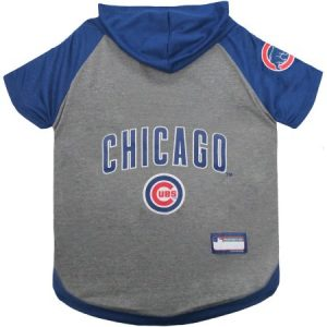 Pets First MLB Chicago Cubs Hoodie Tee Shirt
