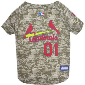 Pets First MLB Los Angeles Rams Camouflage Jersey For Dogs, 5 Sizes Available, Pet Shirt For Hunting, Hosting a Party, or Showing off your Sports Team