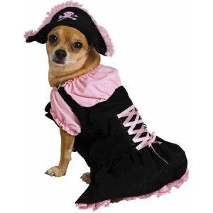 Pink Pirate Dog Pet Pet Costume - X-Small