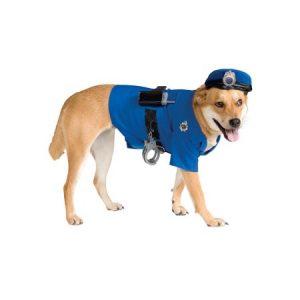 Police Dog Pet Costume Rubies 885945