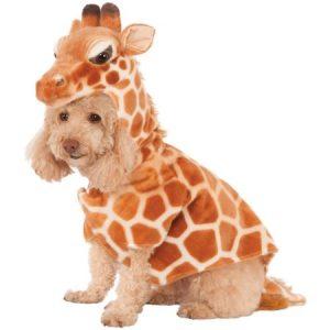 Rubie's Giraffe Hoodie Pet Costume - Large
