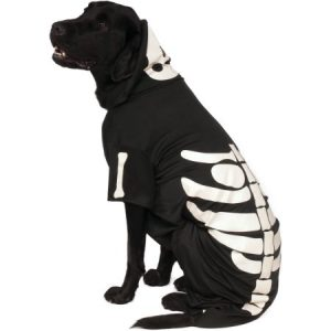 Rubie's Glow - In - The - Dark Skeleton Hoodie Pet Costume - Extra Extra Large