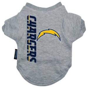 San Diego Chargers Dog Tee Shirt - Large