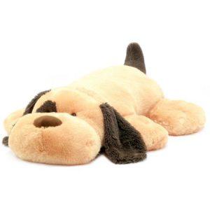 "Spark 39"" Stuffed Plush Fluffy Floppy Animal, Tan Puppy"