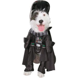 Star Wars Darth Vader Dog Costume Pet Outfit Jumpsuit & Hat