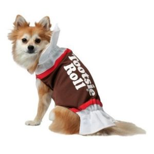 Tootsie Roll Dog Halloween Pet Costume (Multiple Sizes Available)
