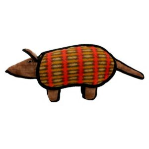 VIP Products Tuffy Desert Armadillo Dog Toy, Multicolor