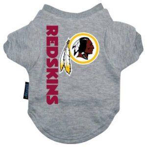 Washington Redskins Dog Tee Shirt - Large