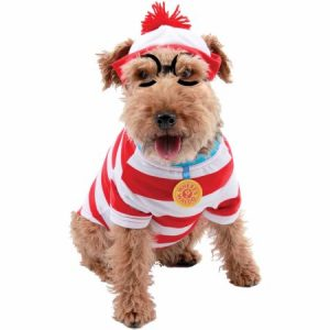 Where's Waldo Woof Dog Kit Halloween Pet Costume (Multiple Sizes Available)