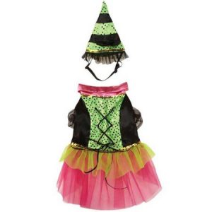 Zack Zoey Witchy Business Costume Green MEDIUM