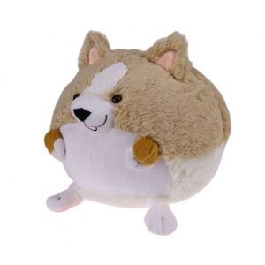 Lovely Corgi Dog Pillow Cotton Plush Toy Stuffed Soft Animal Gift for Kids
