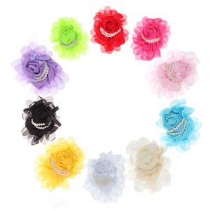 10pcs Baby Girls Kids Toddler Flower Pearl Headband Hair Band Bow Accessori