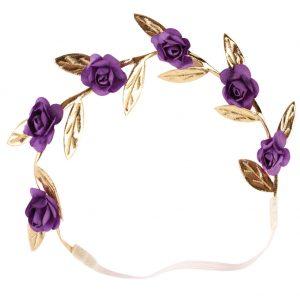 Gold Leaf Flower Headband Set Hair accessories Peace Olive Branch Baby Girl Cute Leaves Infantil Hairband Crown Wreath Headdress